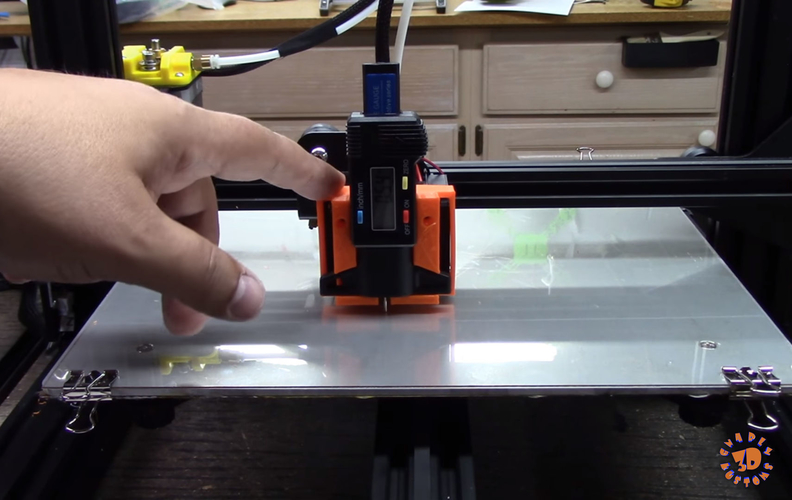 An Easy & Low Cost Solution for 3D Printer Bed Leveling 3D Print 215552