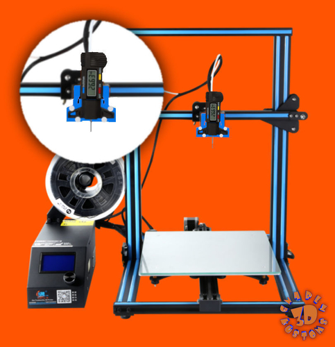 An Easy & Low Cost Solution for 3D Printer Bed Leveling 3D Print 215556