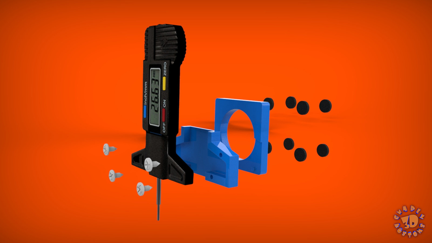 An Easy & Low Cost Solution for 3D Printer Bed Leveling 3D Print 215557