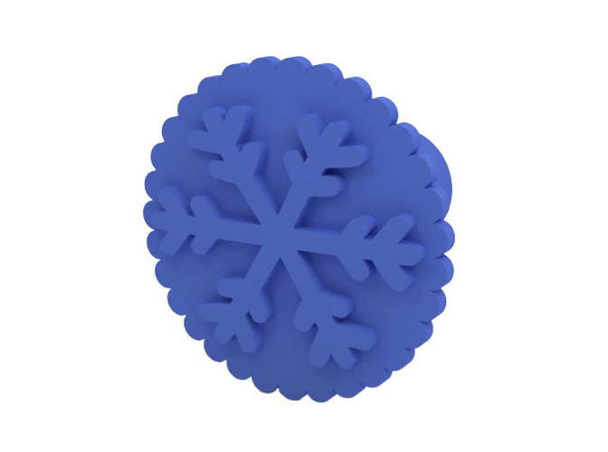 Cookie stamp 3D Print 215603