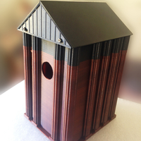Small BIRD HOUSE 3D Printing 215648