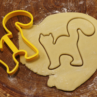 Small Cat cookie cutter for professional 3D Printing 215679