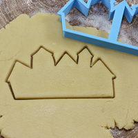 Small City cookie cutter for professional 3D Printing 215683
