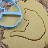 Small Cat 2 cookie cutter for professional 3D Printing 215689