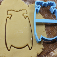 Small Bat 2 cookie cutter for professional 3D Printing 215693