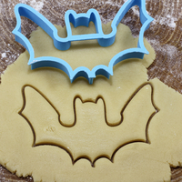 Small Bat cookie cutter for professional 3D Printing 215707