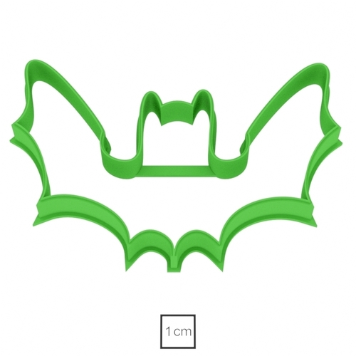 Bat cookie cutter for professional 3D Print 215708