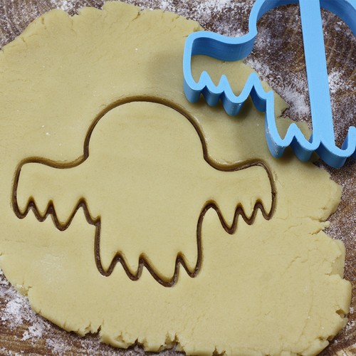 Ghost 2 cookie cutter for professional 3D Print 215724