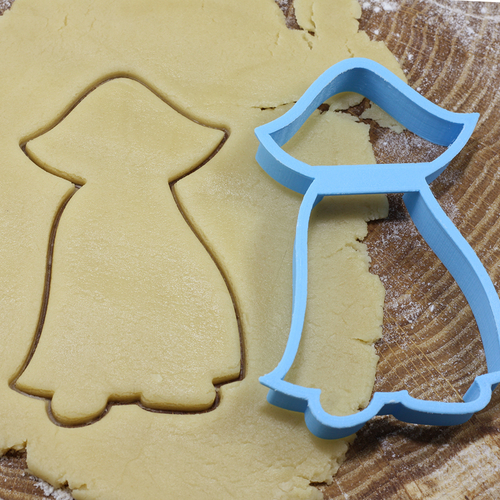 Dracula cookie cutter for professional 3D Print 215740