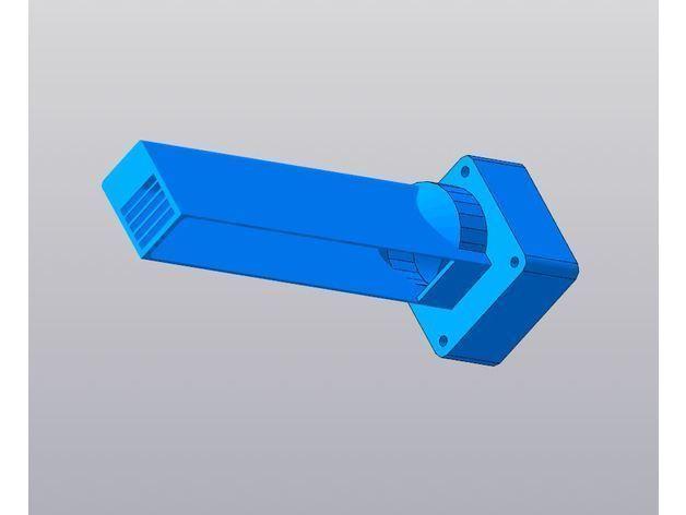 sourcing map Cross Shape Notch Heatsink for Stepper Motor,3D Printer 40x40x11mm Black 6pcs