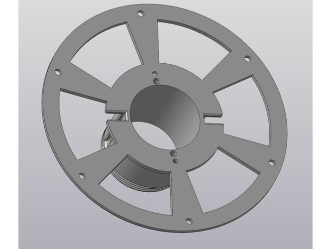 Spool for filament 3D Print 216081