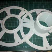 Small Spool for filament 3D Printing 216083