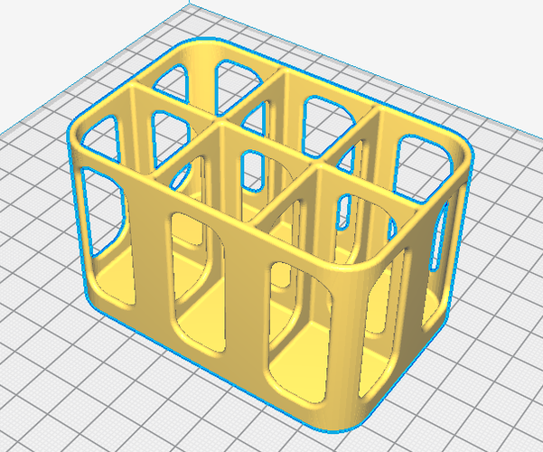 Bottle Rack - for dyes, scents etc 3D Print 216250
