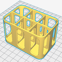 Small Bottle Rack - for dyes, scents etc 3D Printing 216250