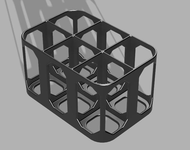 Larger Bottle Rack - For dyes/scents etc 3D Print 216253
