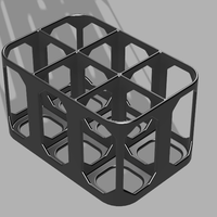Small Larger Bottle Rack - For dyes/scents etc 3D Printing 216253