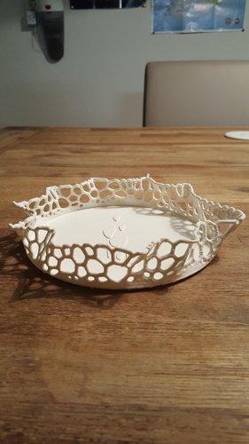 Design Bowl  (with voronoi diagram) 3D Print 216274