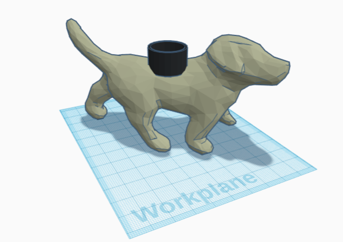 The Puppy Planter 3D Print 216348
