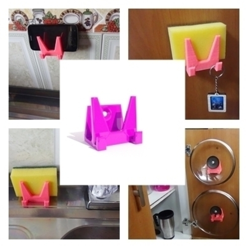multi kitchen stand 3D Print 216493