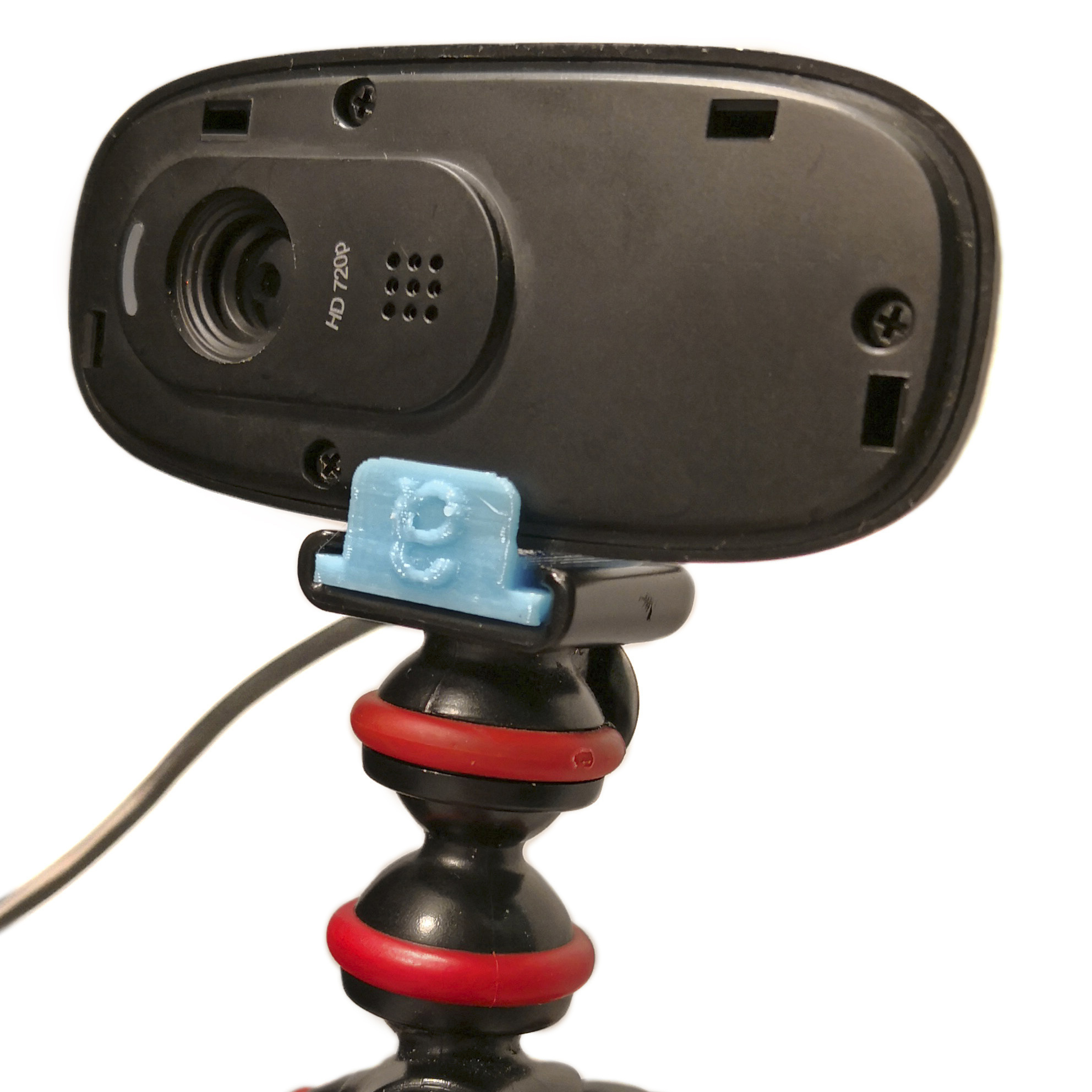 3d Printed Logitech C270 Webcam Guerrilla Tripod Mount By Edditive Pinshape