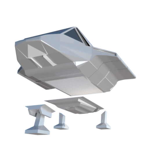 3d Printed Skyfighter