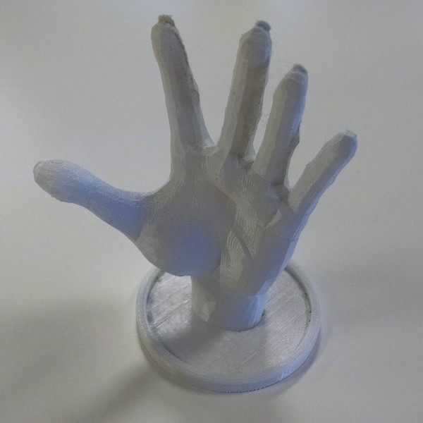 Medium Hand for Jewellery 3D Printing 21671