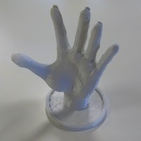 Small Hand for Jewellery 3D Printing 21671