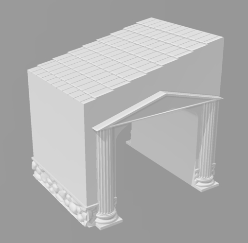 Ancient city for Wargame - Scenery pack 3D Print 216753