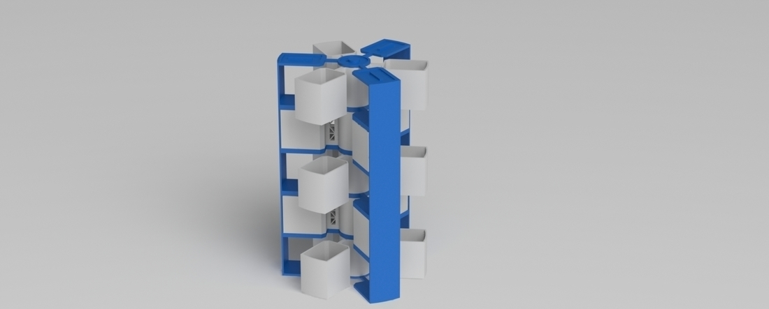 stackable spinning storage 3D Print 216761
