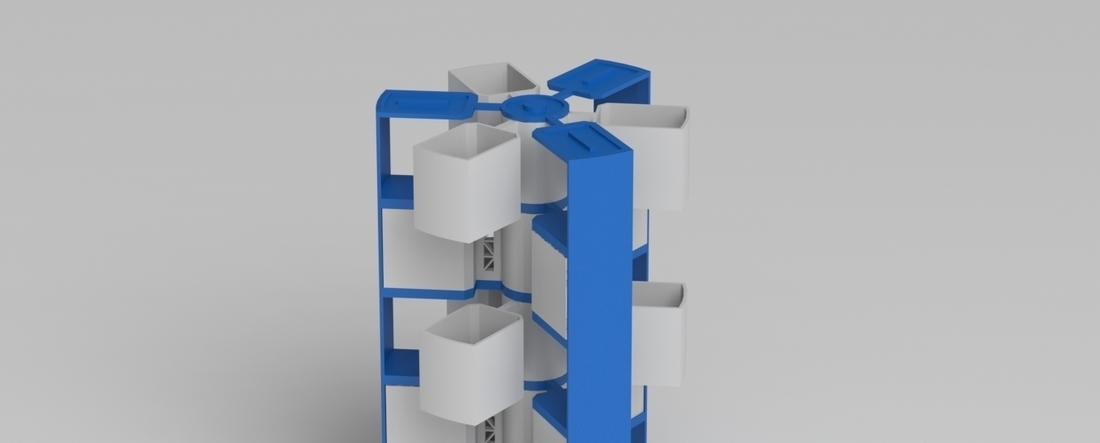 stackable spinning storage 3D Print 216762
