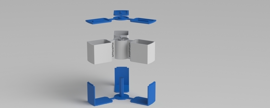 stackable spinning storage 3D Print 216763