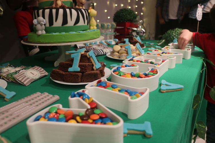 LETTERS FOR CANDY BAR / BIRTHDAY  3D Print 216915