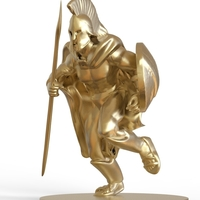 Small Spartan Sculpture 3D Printing 216953