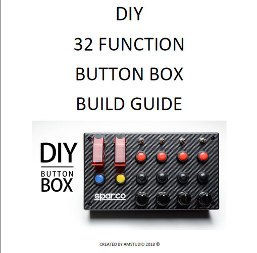32 Function Button Box Build Guide  By AMSTUDIO 3D Print 216979