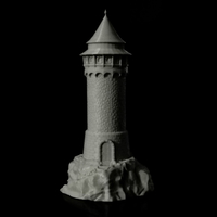 Small Dragon Tower 3D Printing 217008