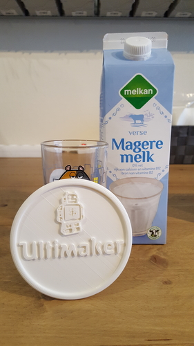Coaster with Ultimaker logo 3D Print 217033