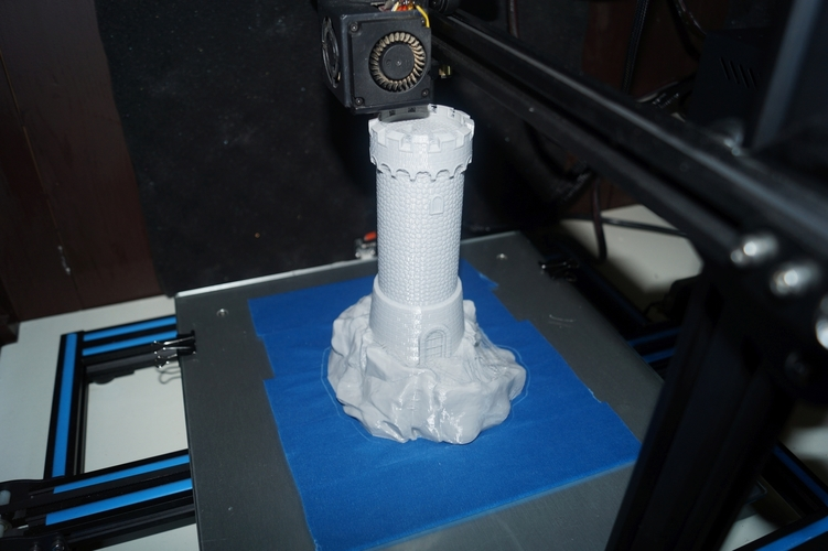 Old Guard Tower 3D Print 217052