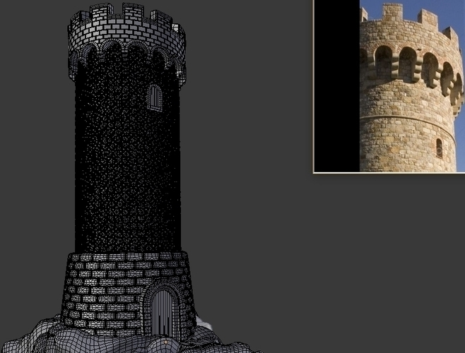 Old Guard Tower 3D Print 217053