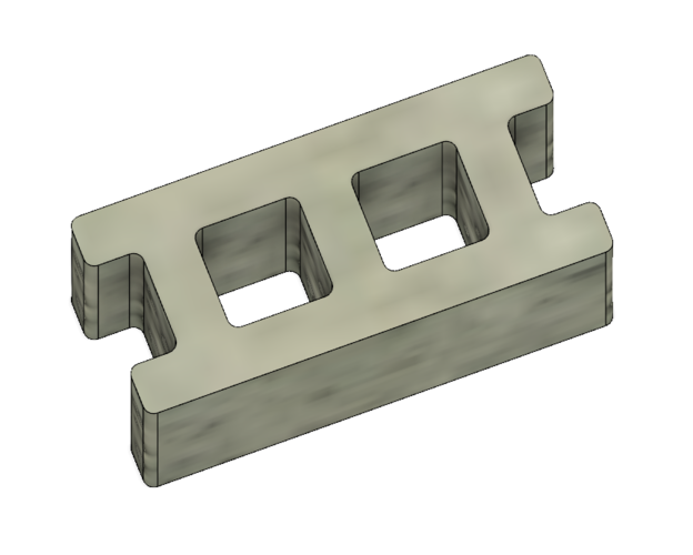 Free Mini Cinder Blocks 3D Print 217057