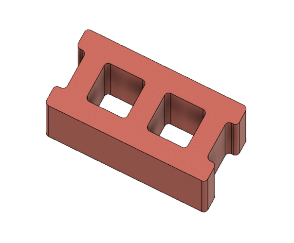 Free Mini Cinder Blocks 3D Print 217058