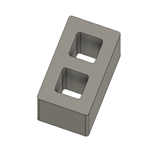 Free Mini Cinder Blocks 3D Print 217059