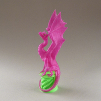 Small Aria The Dragon (for dual extrusion) 3D Printing 21706