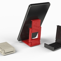 Small Quick-Stand Phone Stand - Portable 3D Printing 217121