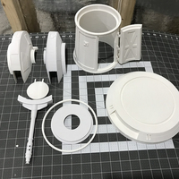 Small Hoth Turret 3D Printing 217169