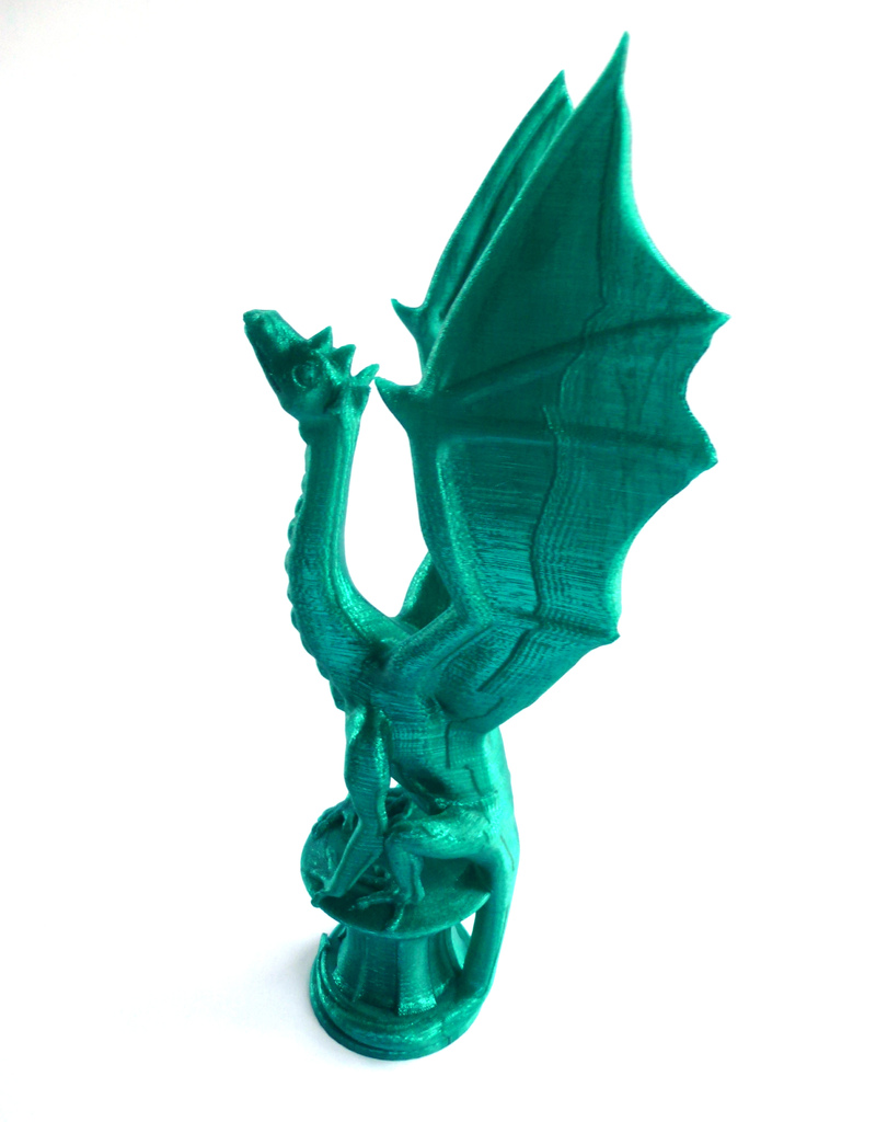 3d printed aria the dragon by louise driggers pinshape