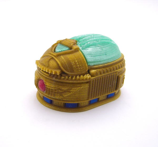 Medium Scarab Beetle Box (with secret lock) 3D Printing 21726