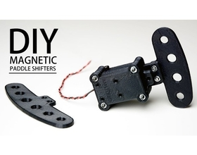DIY Magnetic Shift Paddles