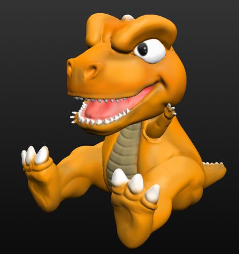 3d Printed Dinosaur Gon By Dustofcosmos Pinshape