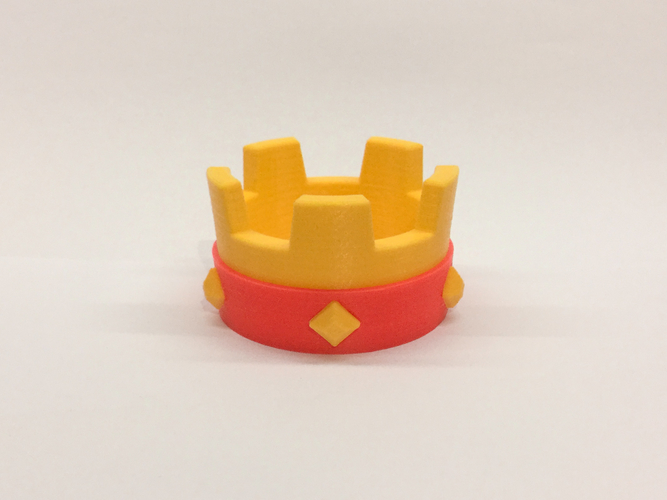 Crown | Clash Royale  3D Print 217349