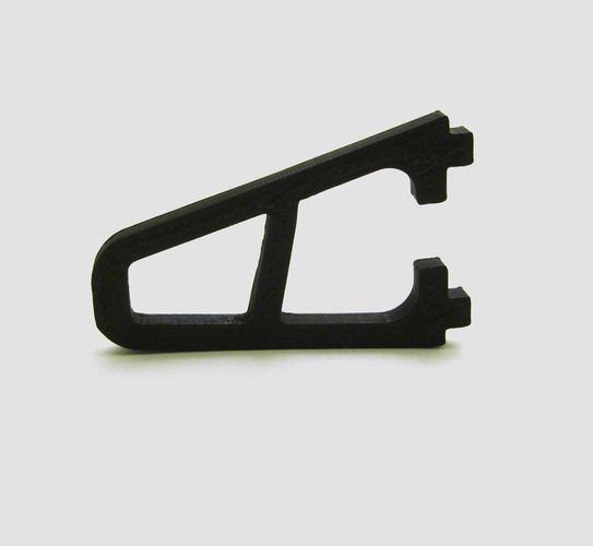 Replacement foot for HobbyKing FPV250 3D Print 21739